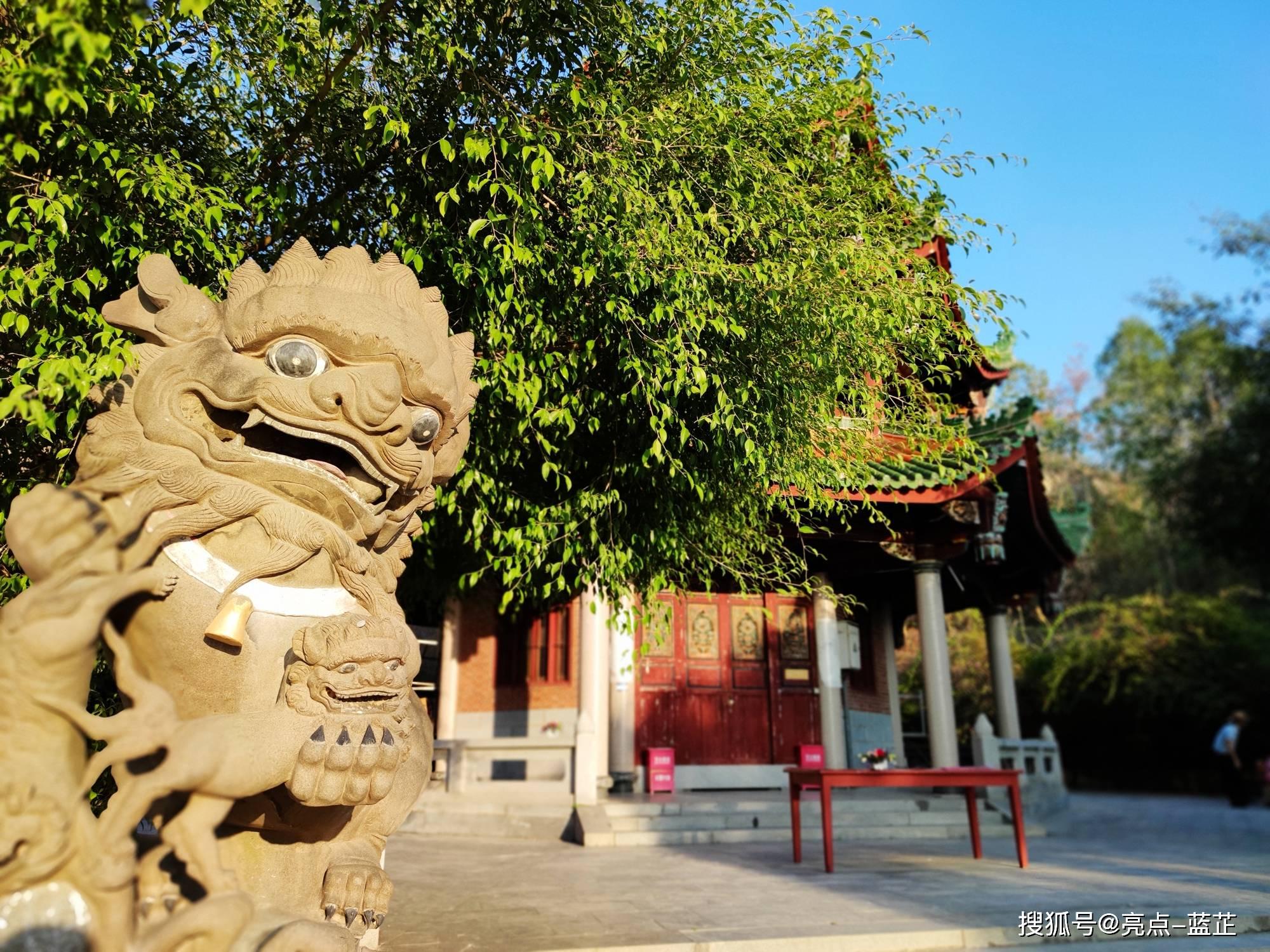 了不起的梅山寺,拥有两个国内之最——石质山门、缅甸白玉佛像  第7张