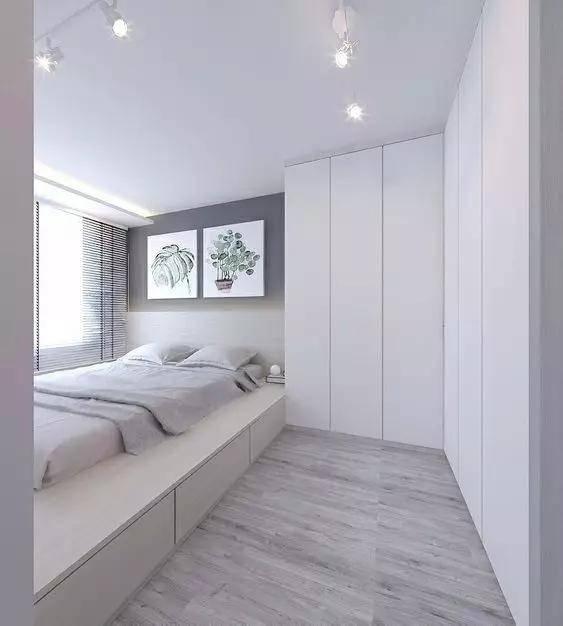 30个前卫的地台卧室设计,榻榻米已经落伍啦!