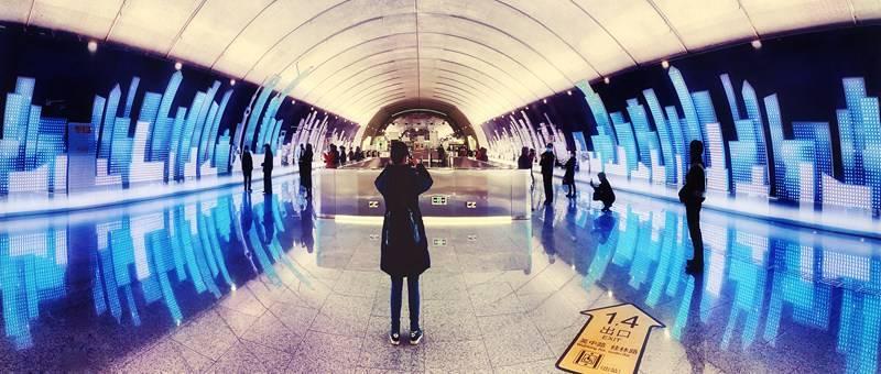 原创             上海最美地铁站来了,又一网红打卡地,安排!