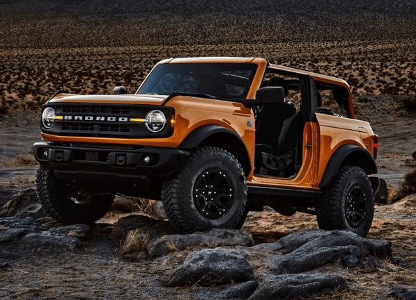 """最原始最纯粹的福特越野车,Bronco的双门版独一无二,造型""""简单"""""""