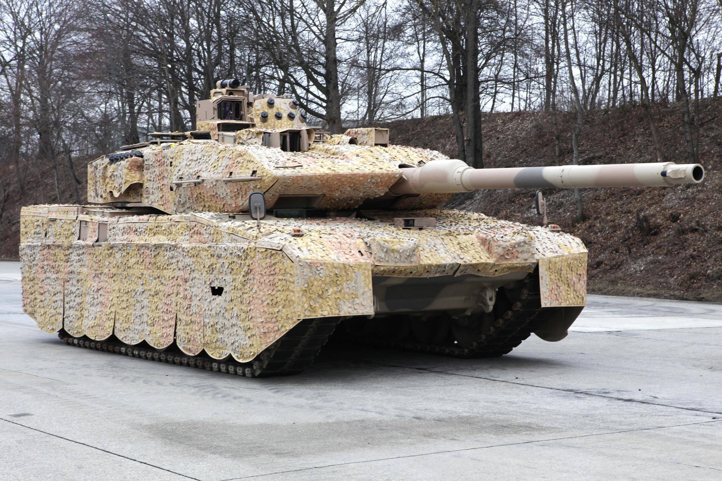 """世界最好的坦克:欧洲强国第三代主战上克""""豹""""2主战坦克有何特点?"""