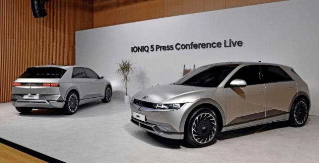 现代最初的电动品牌爱奥尼亚克发布了第一款量产SUV,最长续航600公里