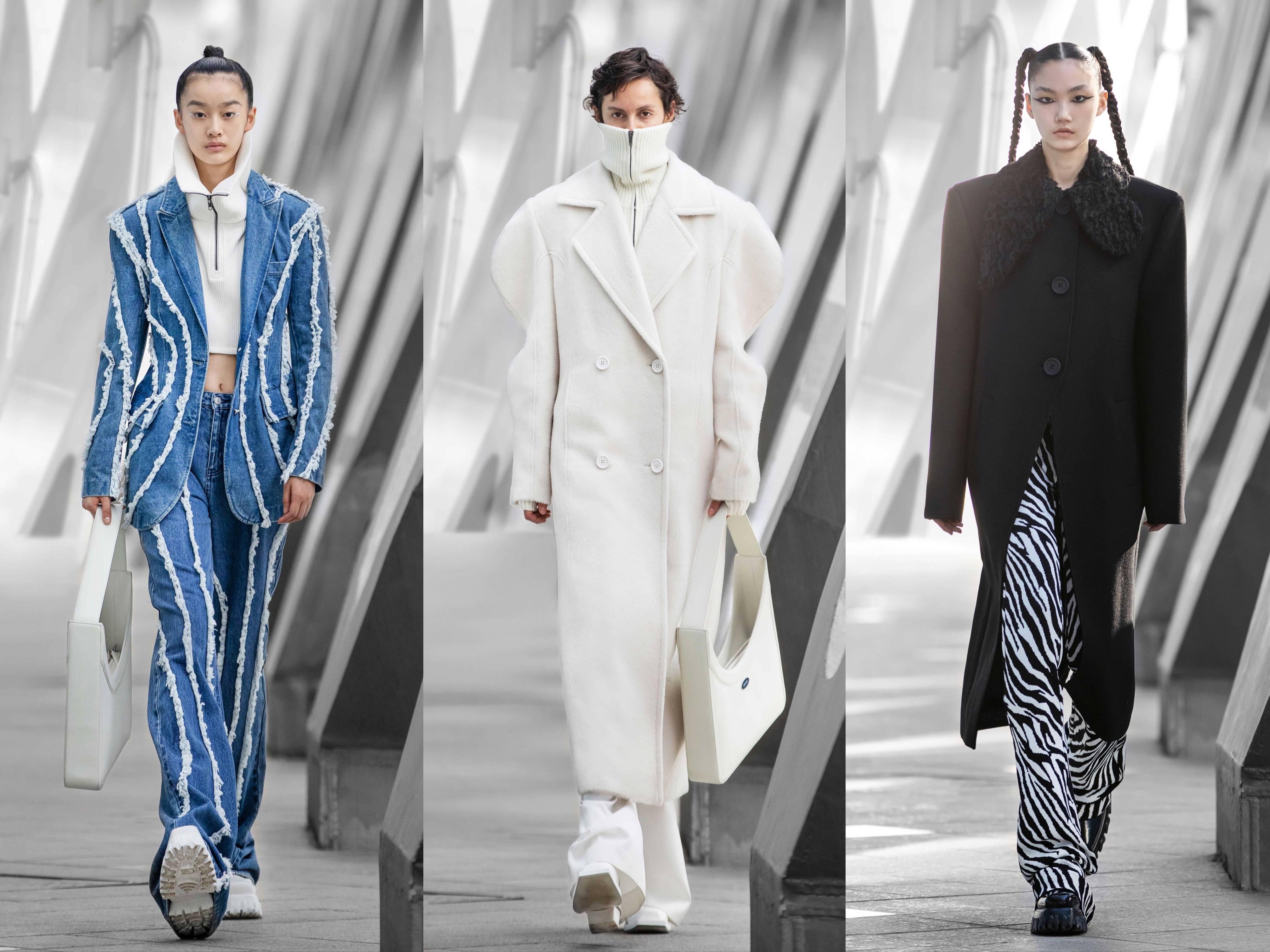 """中国设计师品牌ANNAKIKI米兰时装周发布2021秋冬""""虫洞""""系列"""