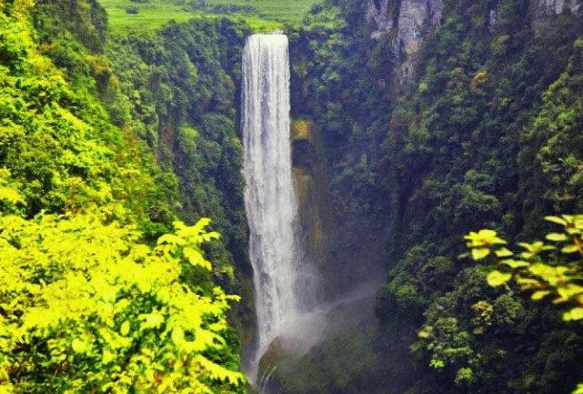 """广西最美的峡谷,被誉为""""天下一绝"""",景色堪比九寨沟"""
