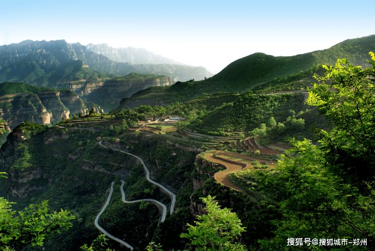 温柔、梦幻、清凉、绚烂的太行大峡谷!