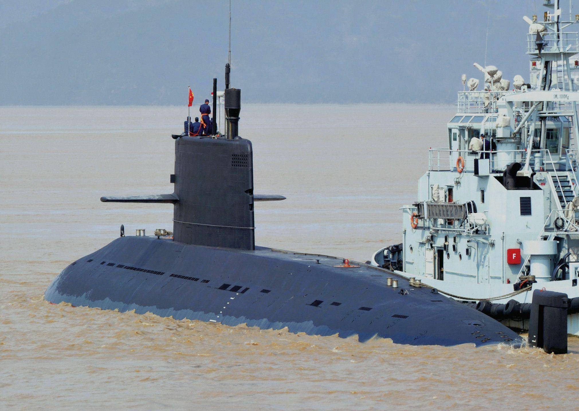 Chinese navy type 039 submarine
