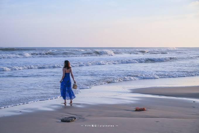 原创             海南绝美海湾,人少景美,游客来了就不想走