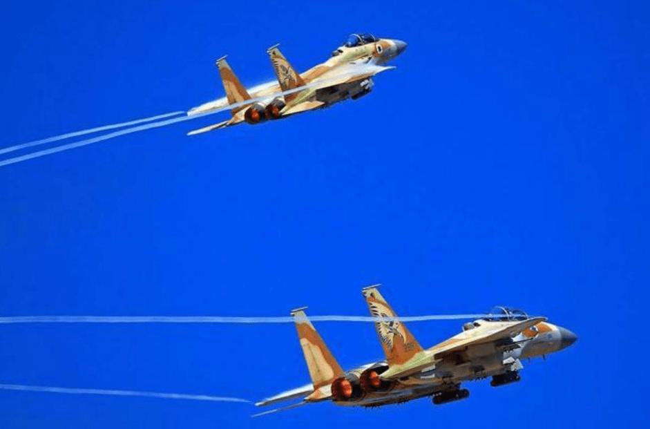 """以色列空军突然""""静默"""",要有大规模空袭?黎巴嫩可能最害怕"""
