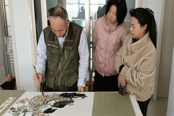 新时代文明实践活动——莒县民间文艺家协会走进洛河社区