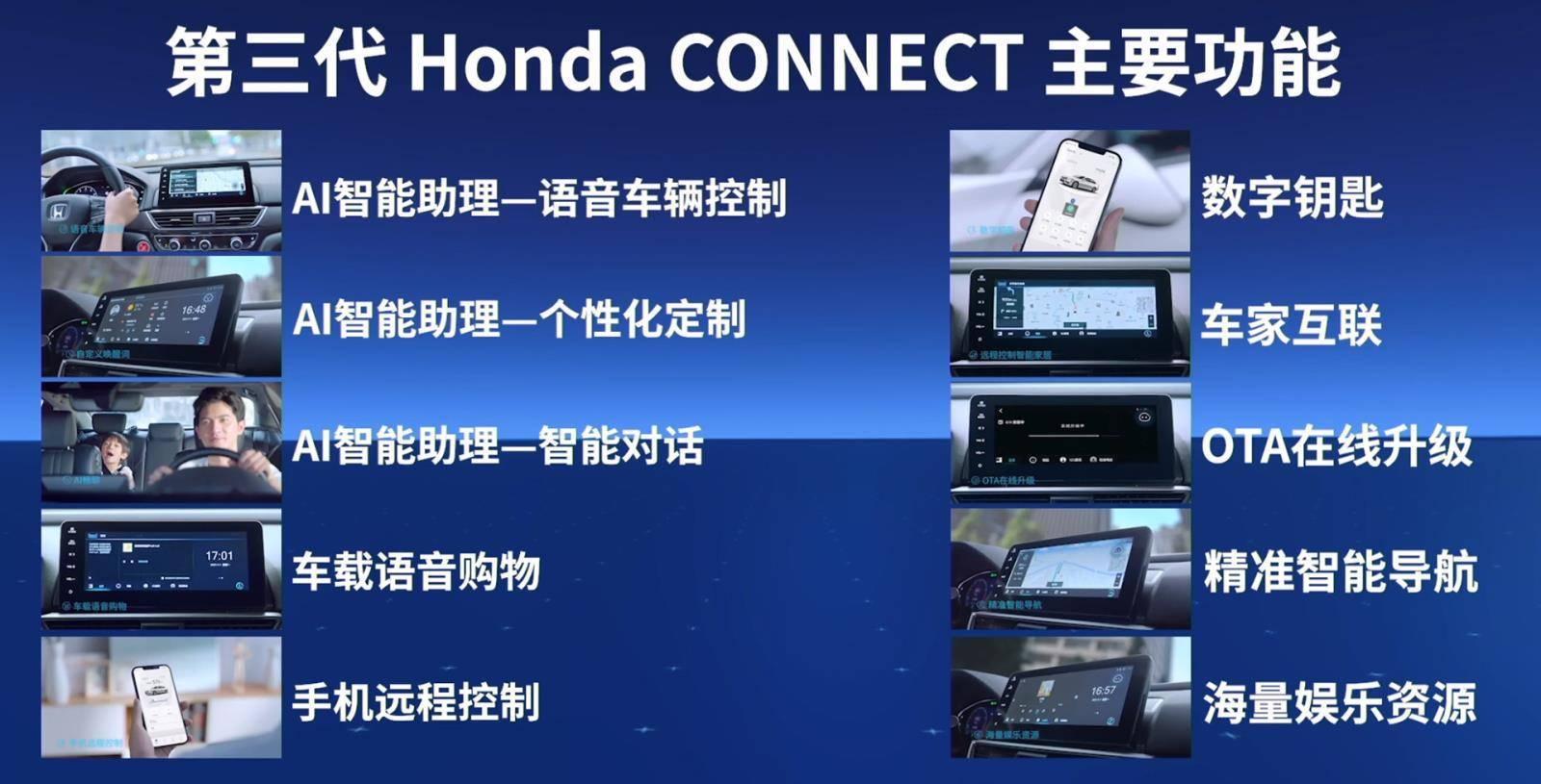 本田发布新一代车机 智能更聪明/2021年下半年陆续搭载