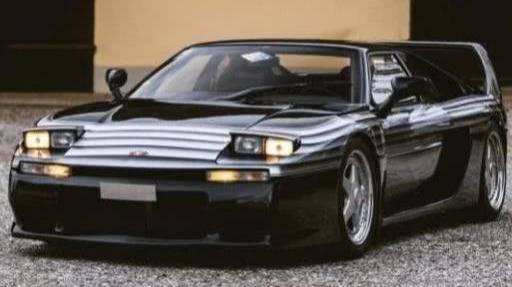 20世纪的法国最强跑车,V6发动机极速270,百公里加速5秒