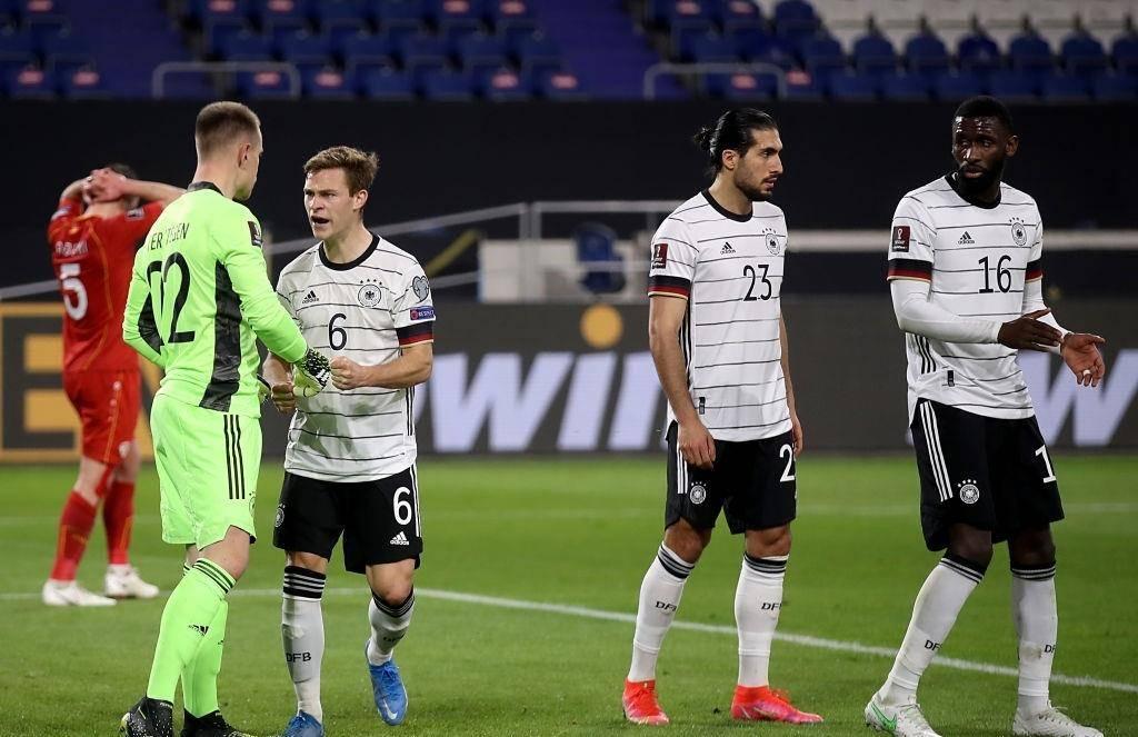 0-1!世界杯4冠王遭打击,半场围攻不得分,穆帅爱将破门意外领先_德国