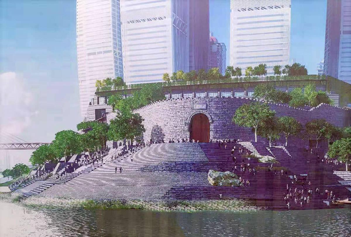 原创             重庆朝天门封闭改造,引起网友大量吐槽,大家觉得这方案到底如何