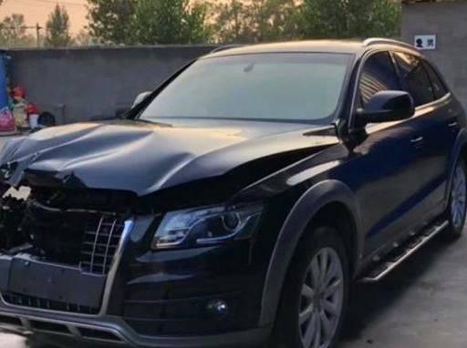 同事花5万买到一台奥迪Q5,修车工见车后称:你小子捡到宝了