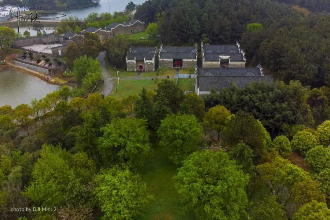 """在木兰湖畔,有个明清园""""收藏""""了许多具有湖北特色的明清古建筑"""
