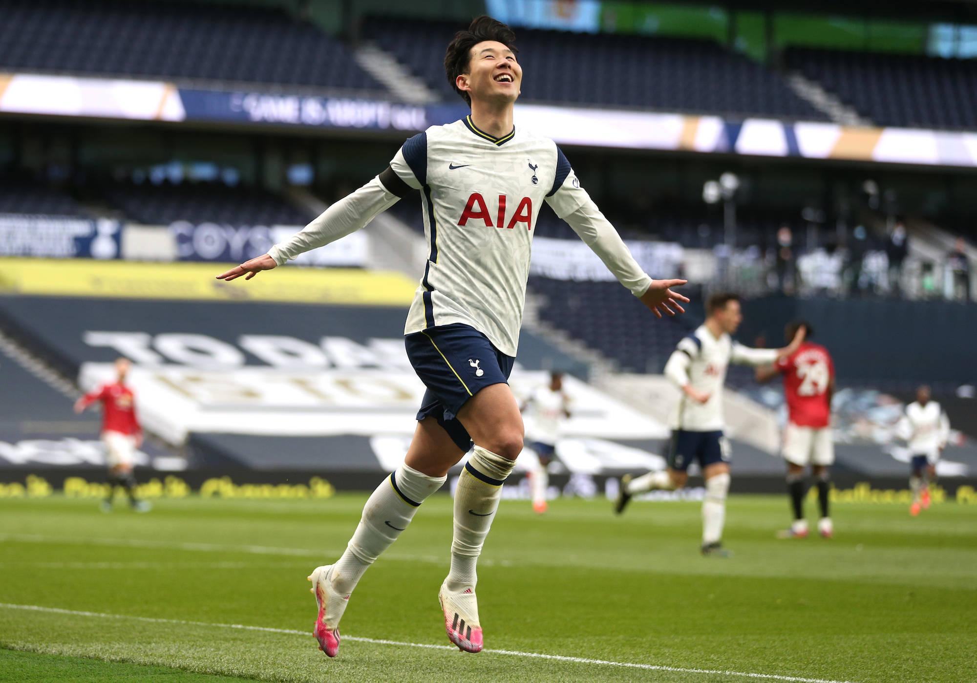 热刺唯一安慰!孙兴慜赛季3杀曼联 进球平生涯最