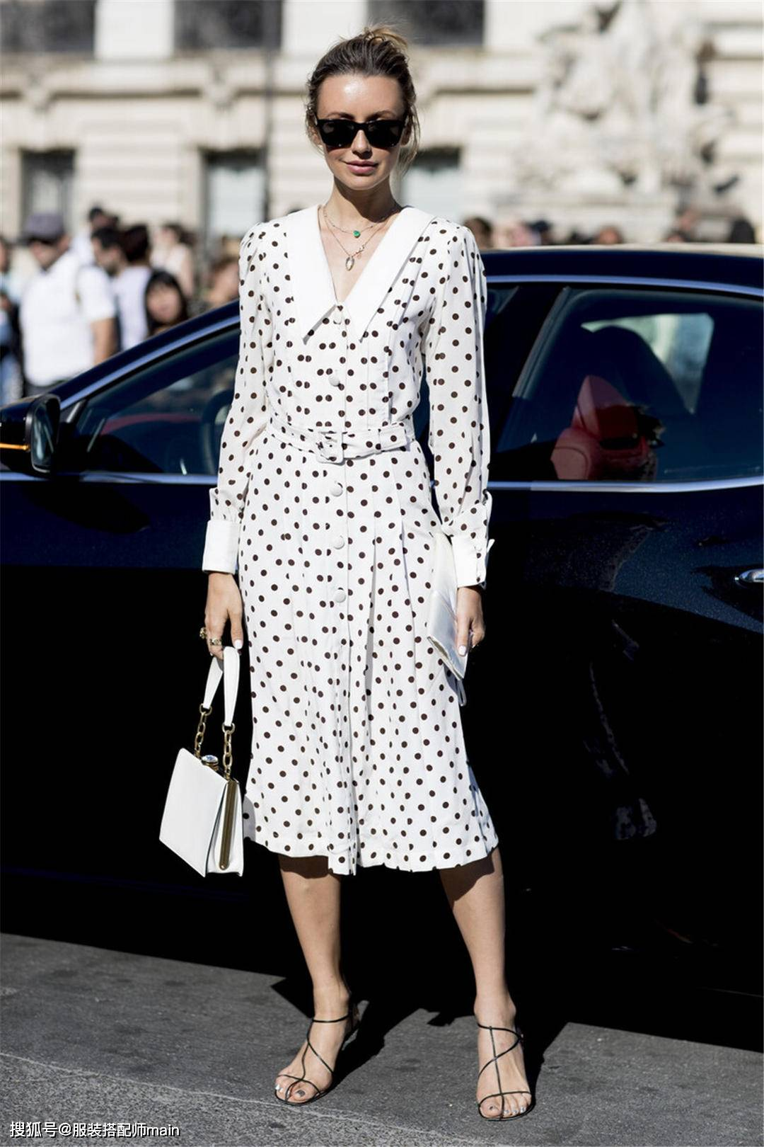 原创             茶歇裙遮肉显瘦,为什么穿上不够好看?可能是你没注意这些细节