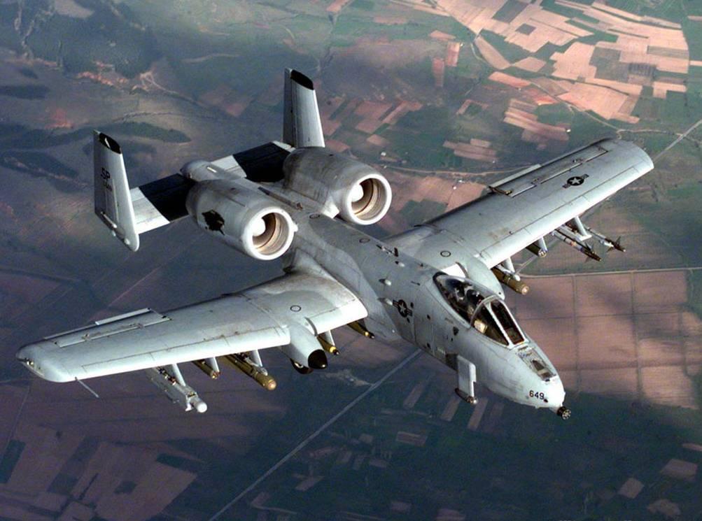 """能飞行的""""加特林"""":美国疣猪攻击机,机身包裹炮管的独特机型"""
