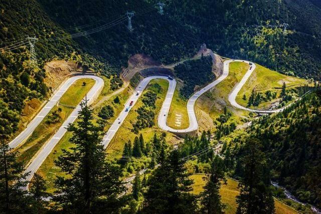 浙江一惊险盘山公路,与川藏线天路十八弯形同孪生,你去过吗