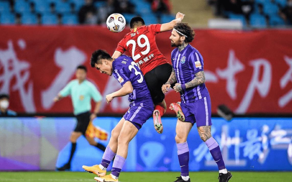 """原创             0-0!津门虎""""知耻后勇"""",拿到赛季首分,中超仅3支球队0分"""
