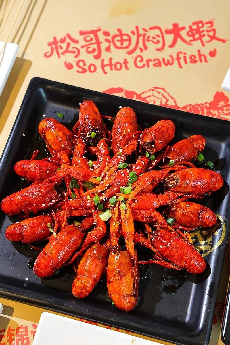 油焖大虾,个个Q弹鲜甜,汁香味浓