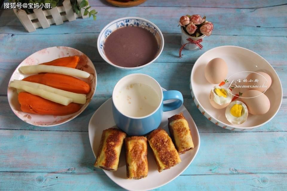 春日5天早餐分享 营养丰富还实惠 吃着健康胃里舒服