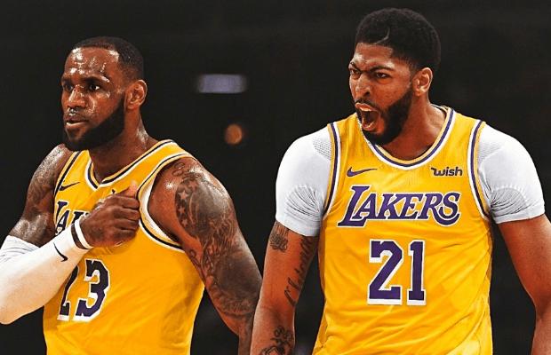 NBA直播:湖人vs猛龙 詹皇浓眉渐入佳境,紫金军团完全体显现