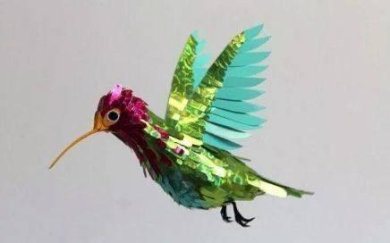 心理测试:哪一只折纸鸟和你有缘分,测你五年后是老板命还是平庸  第4张