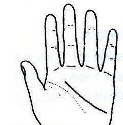 """秘传手相古相法精解:手相""""感情线""""、详细图文解析、值得收藏!  第27张"""