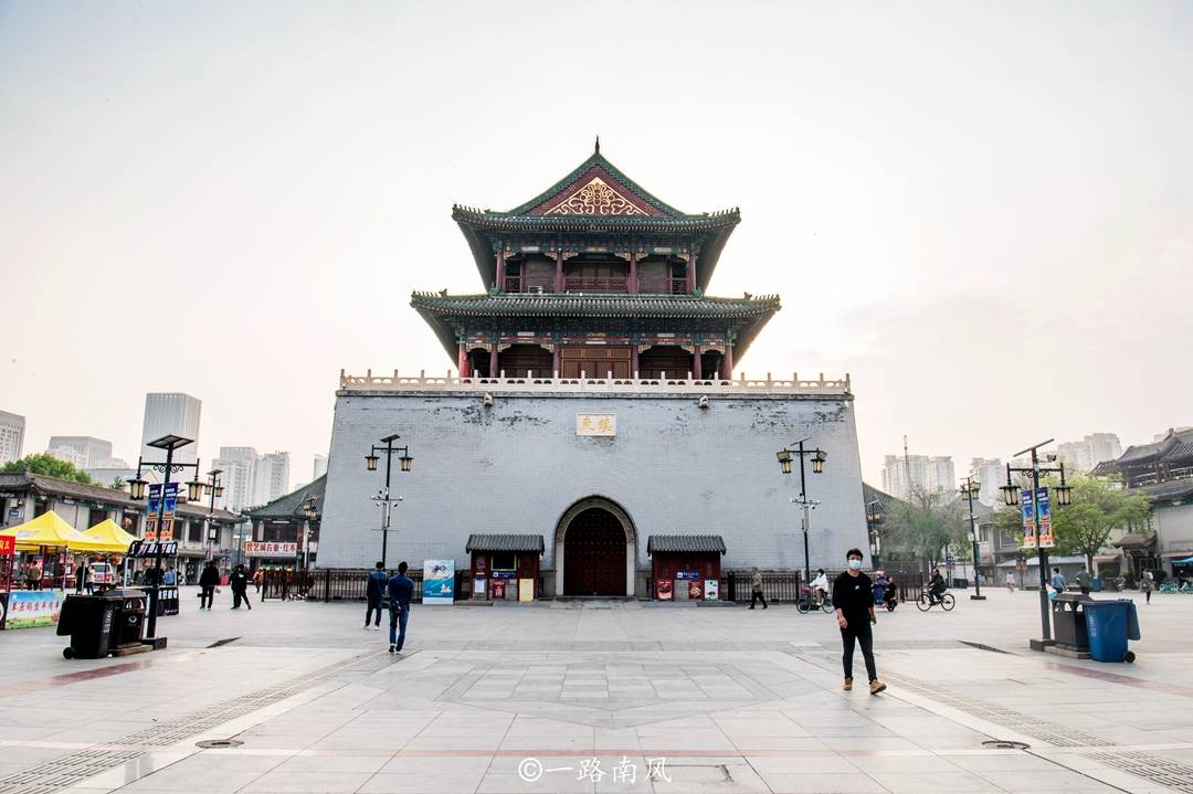 天津地标建筑,明明是座钟楼,却叫鼓楼,曾是天津卫三宗宝之一