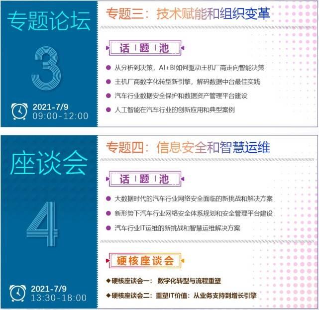 """021风云再起,ACS第五届中国汽车CIO峰会正式来袭!"""""""