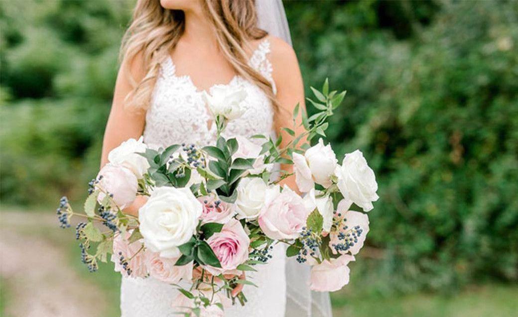 小鹿闯入婚纱照拍摄现场,抢夺新娘手中玫瑰,多么美妙的惊喜!