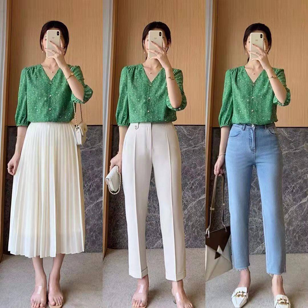 夏季出门怎么穿才最省事?你知道超简单的1件上衣的3种搭配方法吗?