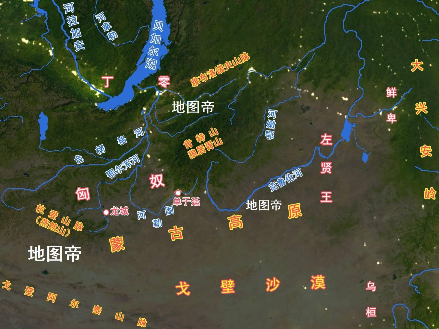 西汉七国之乱地图 七国之乱时期地图