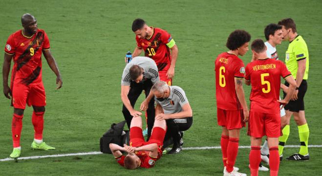 比利时迎来特大喜信,中场天王将伤愈出战意大利,晋级欧洲杯四强概率大增