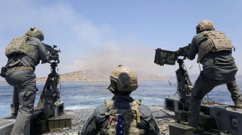 比海豹还要牛的特种兵,美国海军特种战斗艇乘员,制服也是独一份