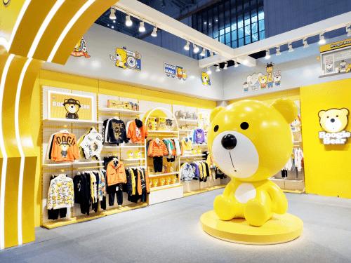高萌天团Boogie Bear卜吉熊打卡第21届CBME孕婴童展,人气口碑双丰收!