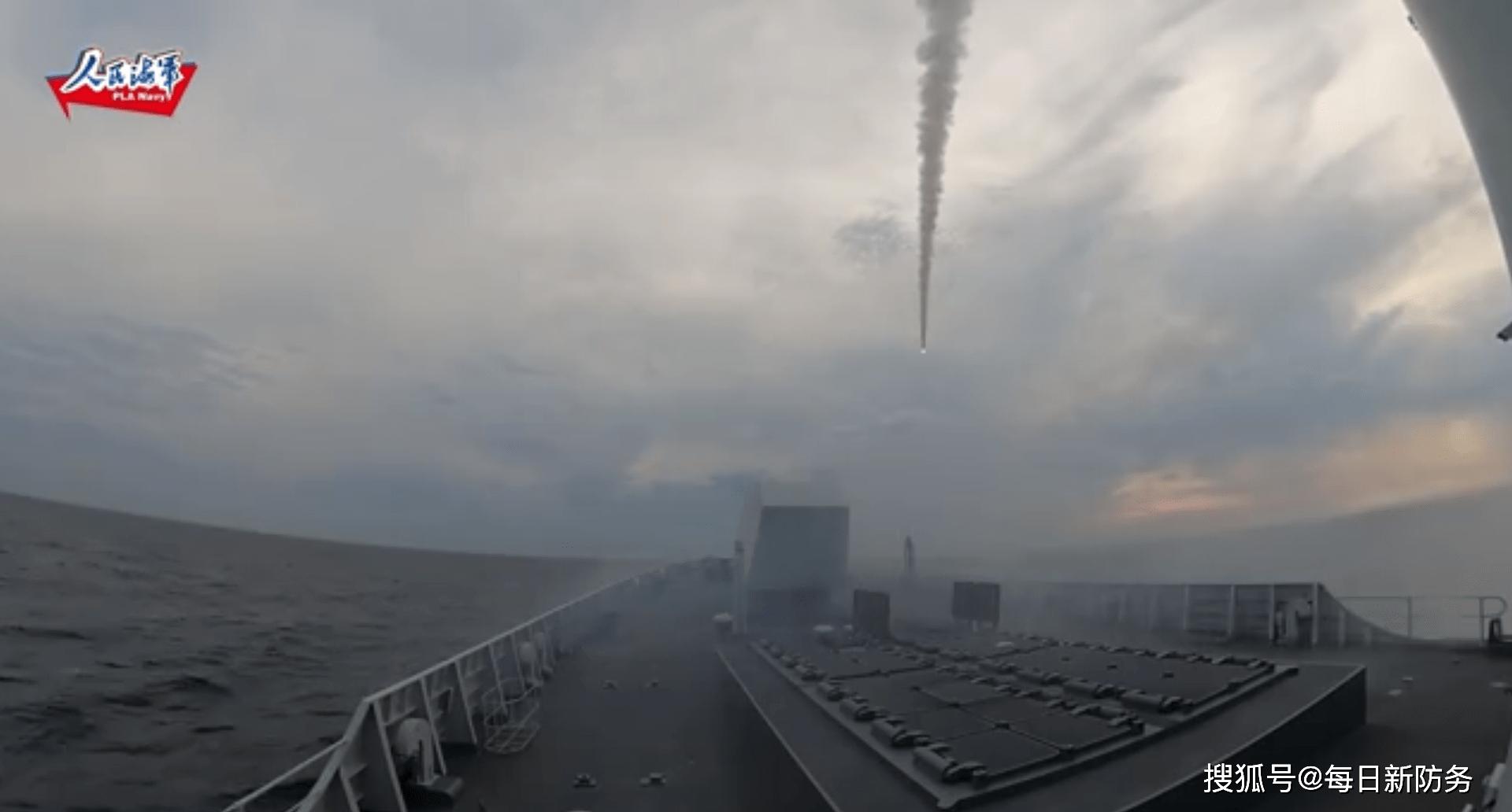 首次证实!052D服役亚超音速反舰导弹,冷热共架发射系统引关注