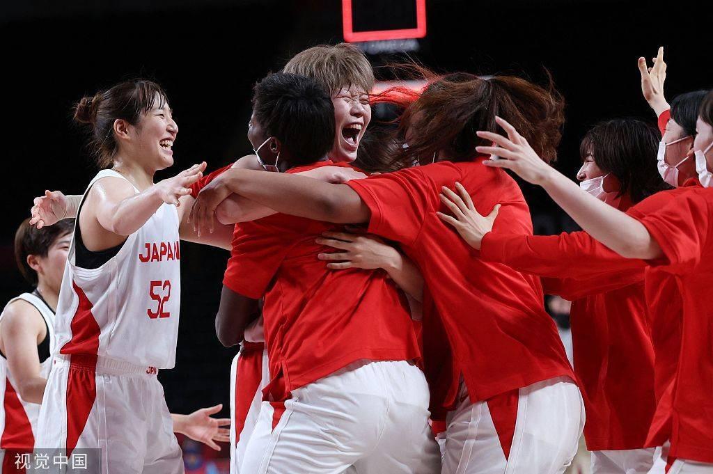 奥运-日本女篮三分准绝杀 1分险胜比利时进四强