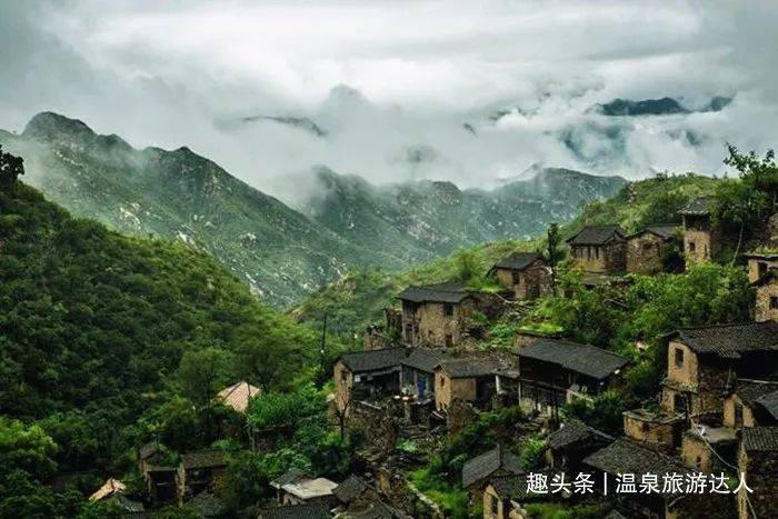 山西千年古村落,被誉为太行山深处的布达拉宫!
