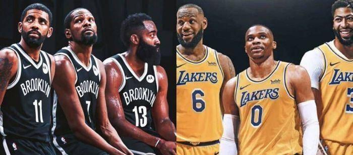 美媒评选新赛季NBA最强三巨头阵容:勇士第五,湖人仅第三,第一无悬念!
