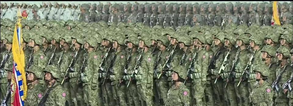 不再土气!朝鲜人民军5款新数码迷彩首亮相,时髦值不输星空迷彩