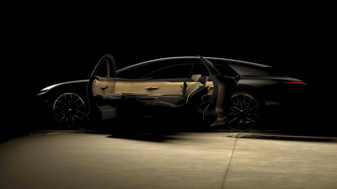 奥迪未来主义概念车将于9月2日发布:预示下一代A8?