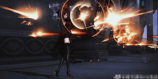 图片[3]-LSP狂喜!美女COS枪炮玫瑰身材爆炸,绝对领域若隐若现-妖次元