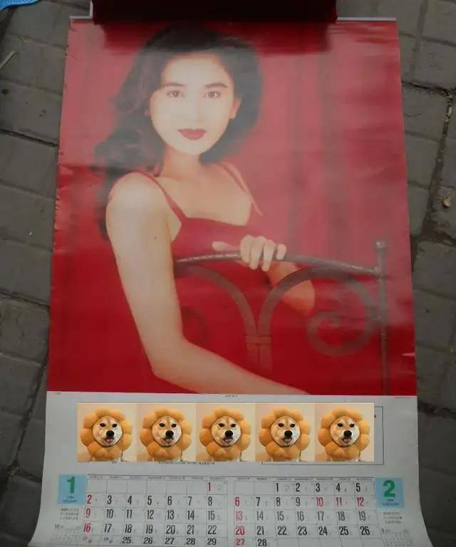 图片[16]-八九十年代的女明星挂历,复古又雷人,都是青春的记忆,好怀念啊-妖次元