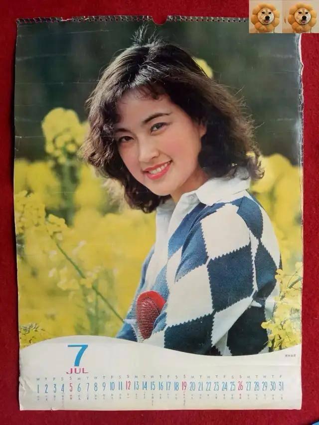 图片[50]-八九十年代的女明星挂历,复古又雷人,都是青春的记忆,好怀念啊-妖次元
