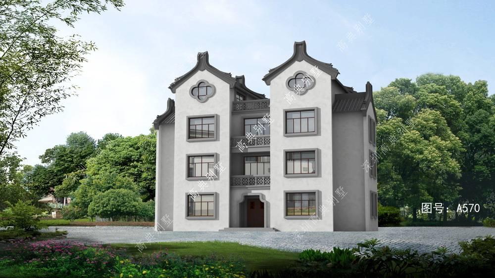 好看的中式别墅,美观又耐看,看完就想家建栋。