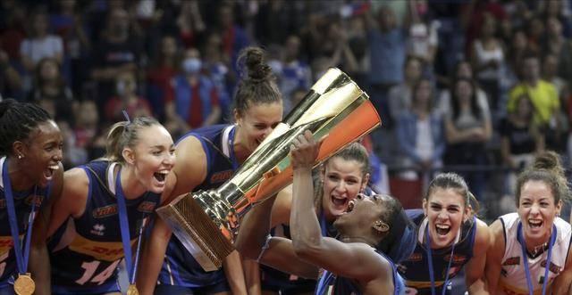 女排欧锦赛最终排名!意大利十年磨一剑终登顶,前