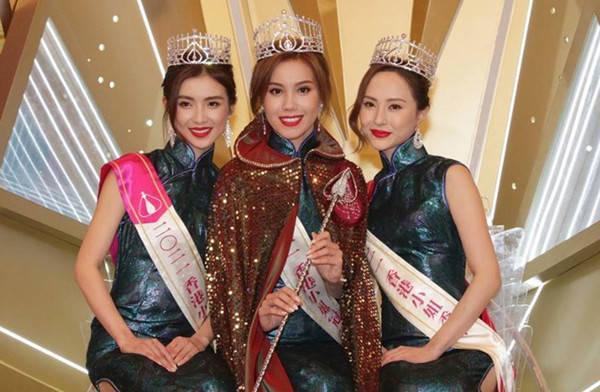 2021香港小姐三甲出炉:混血美女夺冠,背景起底妈妈曾获选美亚军