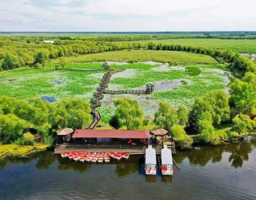 带您走进双鸭山安邦河国家湿地公园领略原生态之美